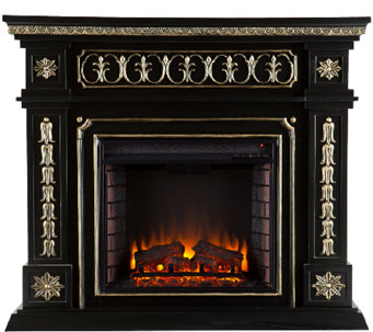 Vienna Electric Fireplace - Black - H364102