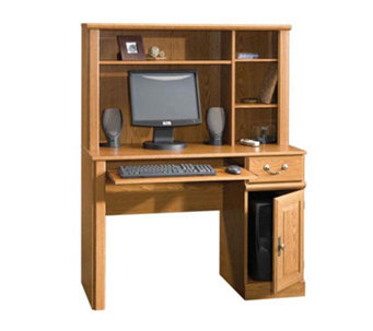 Sauder Orchard Hills Collection Desk w/ Shelf Hutch - H140603