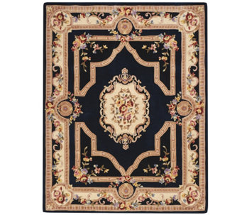 Royal Palace French Savonnerie 7' x 9' Wool Rug - H205103