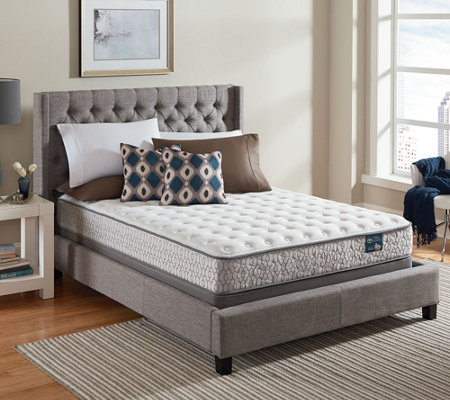 Serta Lively Cushion Firm Queen Mattress Set