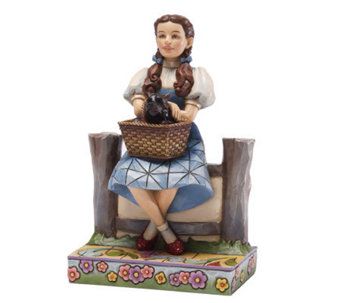 Jim Shore Wizard of Oz Dorothy and Toto Figurine - H282003