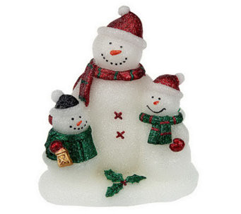 Home Reflections Snowman Family Flameless Candle & Timer - H286403