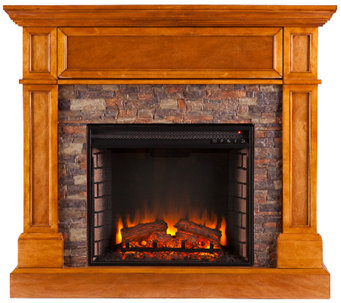 Riley Electric Media Fireplace - H287403