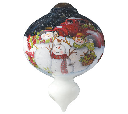 Christmas is Better Together Ornament by Ne'Qwa