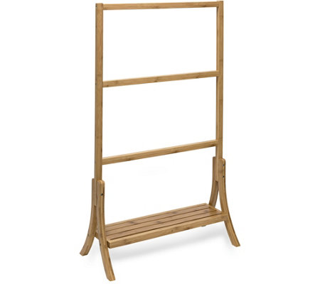 Honey Can Do Bamboo Towel Rail
