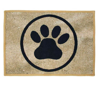 "PB Paws 19"" x 13"" Tapestry Rug - H349303"