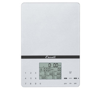 Escali Cesto Portable Digital Nutritional Scale - H352803