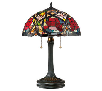 "Tiffany Style Larissa Collection 23"" Table Lamp - H359103"