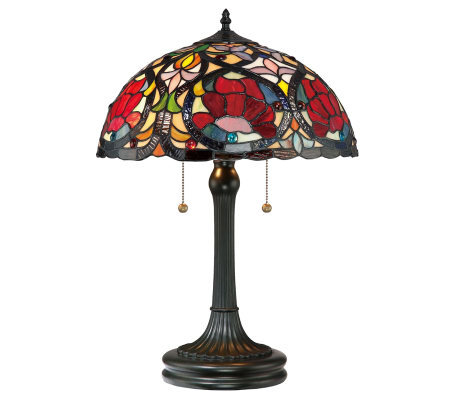 "Tiffany Style Larissa Collection 23"" Table Lamp"