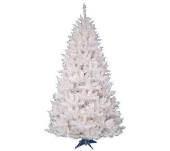 6-1/2' White Sparkle Spruce w/ Dura-Lit Lightsby Vickerman - H363803