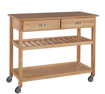 Home Styles Solid Wood Kitchen Cart - H116804
