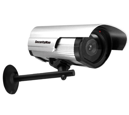 SecurityMan Dummy Outdoor/Indoor Camera w/ LED