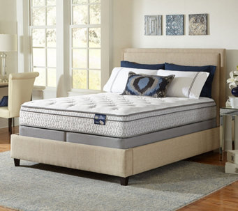 "Serta 11"" Dynamism EuroTop Plush Cal King Mattress Set - H206504"