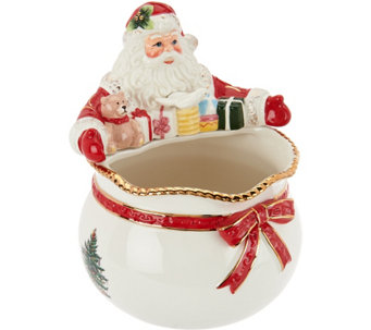 "Spode Christmas Tree 6"" Santa Bowl - H208804"