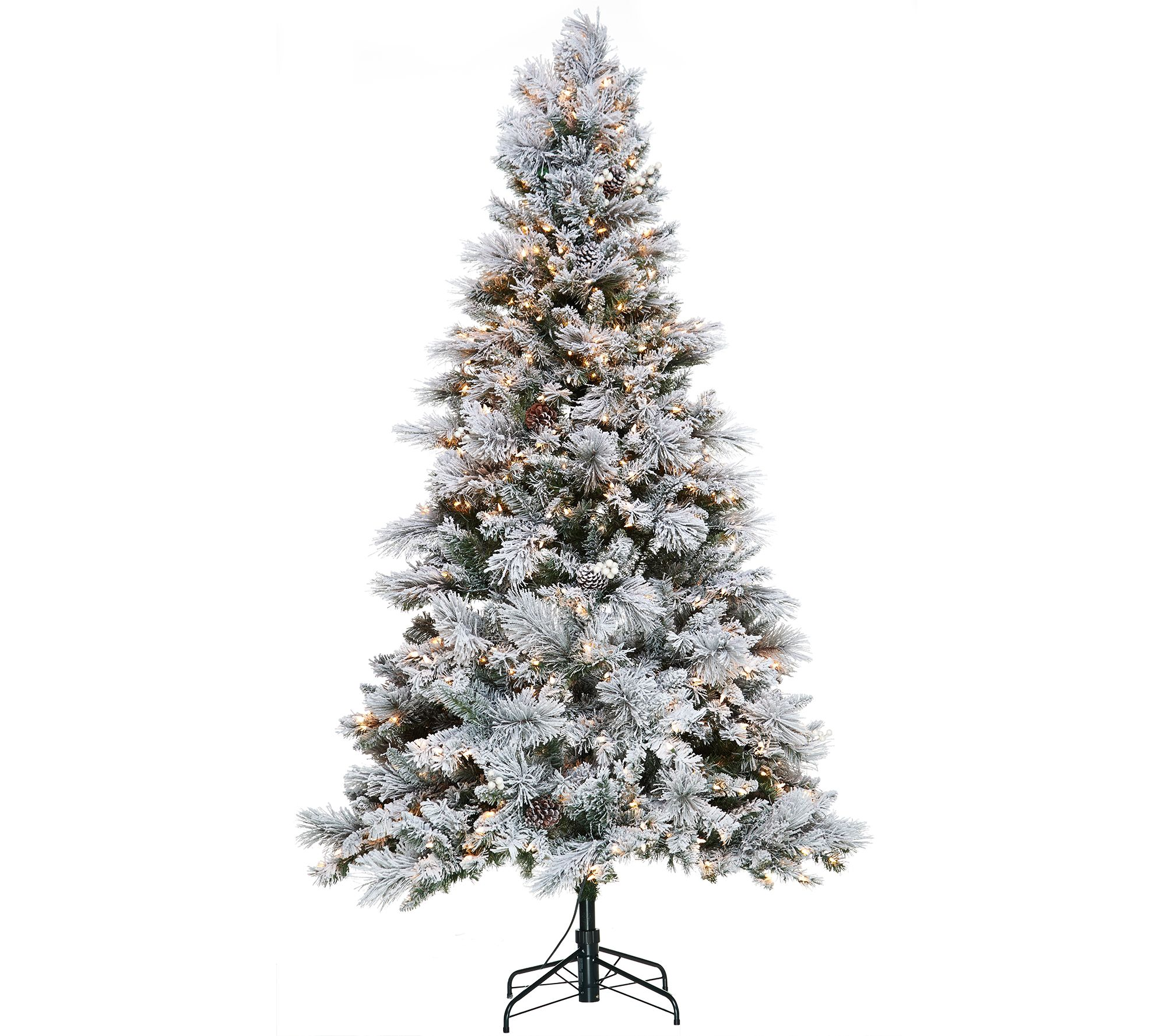 Indoor/Outdoor 6' Pre-Lit Pull-Up Christmas Tree — QVC.com