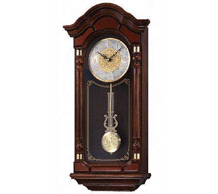 Seiko Oak Pendulum Wall Clock