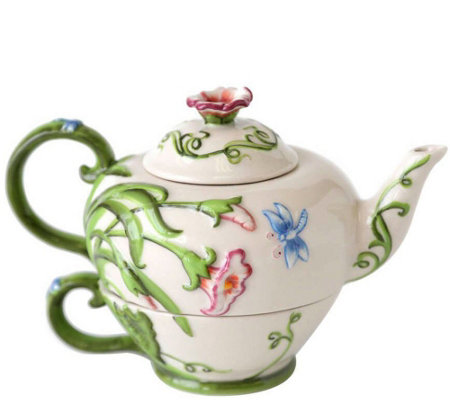 Temp-tations Dragonfly Tea-for-One Set
