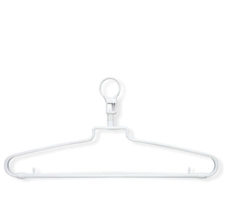 Honey-Can-Do 72-pack Hotel Hangers with Security Loop
