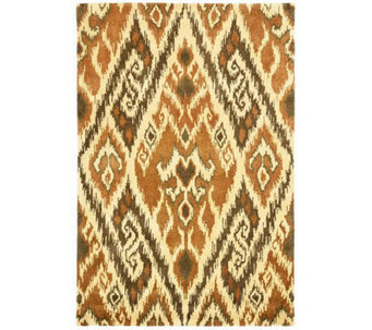 Safavieh Capri Collection Ikat 3' x 5' Wool and ViscoseRug - H362704