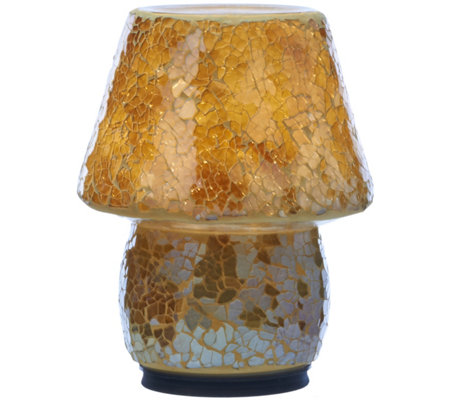 """As Is"" Mosaic Illuminated Indoor/Outdoor Accent Lamp by Valerie"