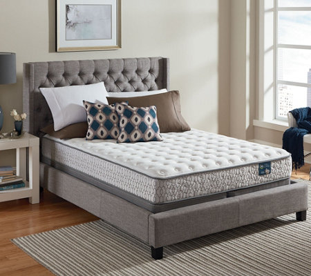 Serta Lively Cushion Firm King Mattress Set