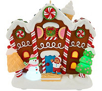 "Hallmark Keepsake ""The Merriest House In Town"" Magic Ornament - H212405"