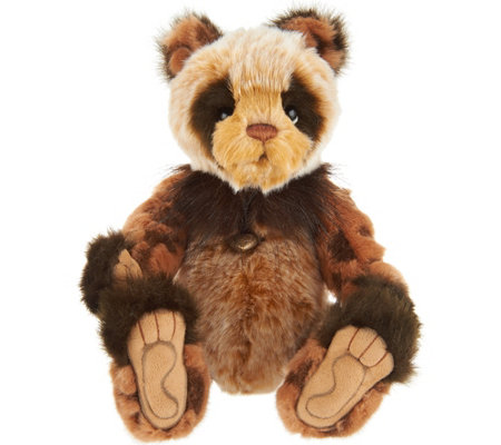 "Charlie Bears Collectible Secret Collection 12"" Flapjack Bear"