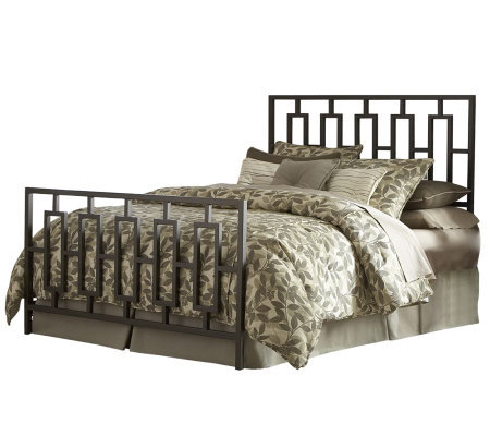 Fashion Bed Group Miami Coffee King Bed