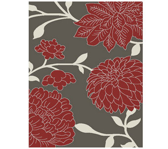"Safavieh Floral 5'3"" x 7'7"" Indoor/Outdoor Rug - H283105"
