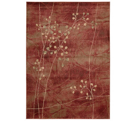 "Somerset Decorative Floral 5'3"" x 7'5"" Rug by Nourison"