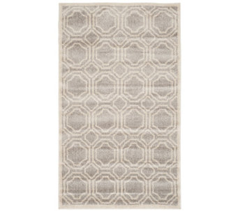 Safavieh Indoor/Outdoor Geometric Tile 3' x 5'Area Rug - H288405