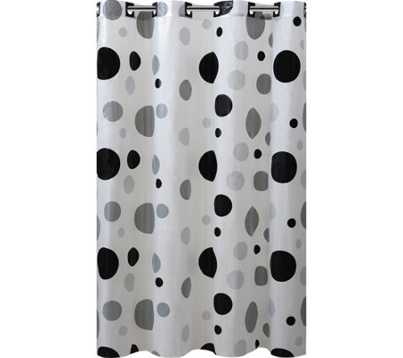 Hookless Printed Shower Curtain - Retro Dots
