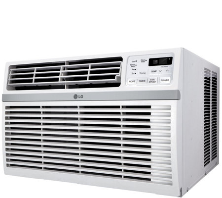 LG Window Air Conditioner for 340-Square Foot Room with Remote