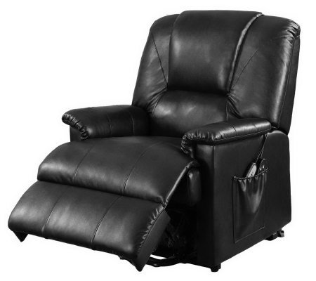 Electronic Lift Recliner with 8-Motor Massage Functions