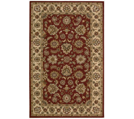 "3'6""x5'6"" Kashan Rug Handtufted Wool by Valerie"