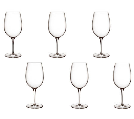 Luigi Bormioli 20-oz Palace Wine Tasting Glasses - Set of 6