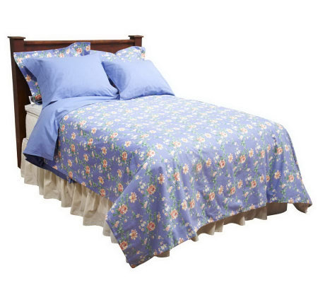 Northern Nights Dorset Cotton Flannel Queen Duvet And