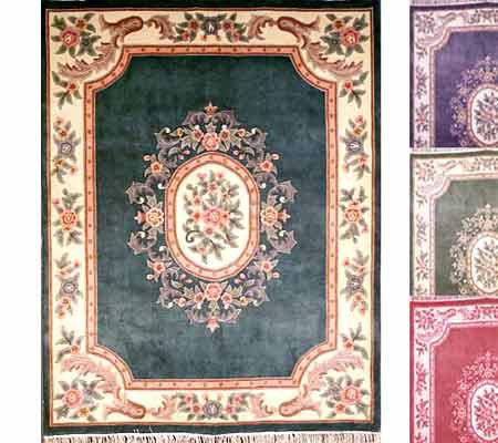 Royal Palace Handmade 7 6 Quot X10 Wool Aubusson Rug Qvc Com