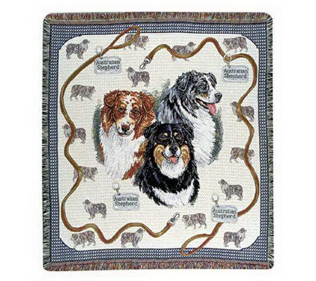 Canine Collection #1 Throw by Simply Home