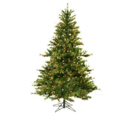 6-1/2' Prelit Mixed Country Pine Tree by Vickeran