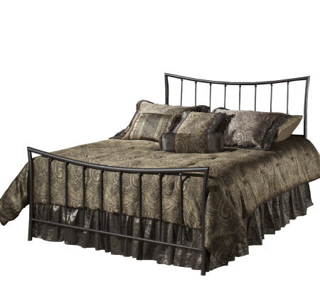 Hillsdale Furniture Edgewood King Bed-MagnesiumPewter Finish