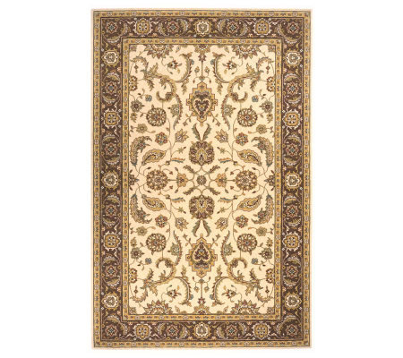 Momeni Sarouk 5' x 8' Power Loomed Wool Rug