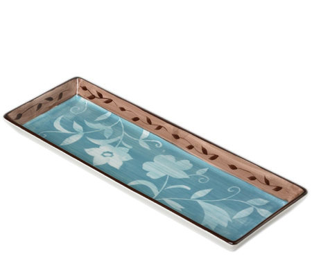 Pfaltzgraff Patio Garden Rectangular Tray