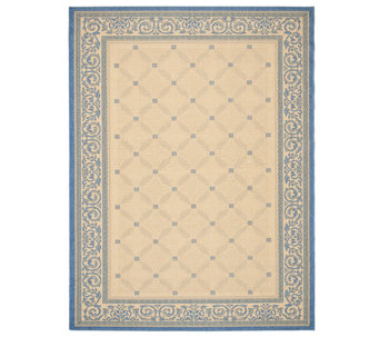 "Safavieh Courtyard Lattice Flower 6'7"" x 9'6"" Rug - H179006"