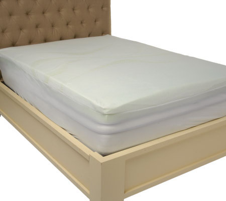 "PedicSolutions 3"" Full Gel Memory Foam Mattress Topper with Cover"