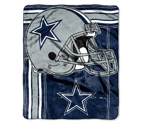 "NFL Team Plush 50"" x 60"" Throw Blanket by Northwest"
