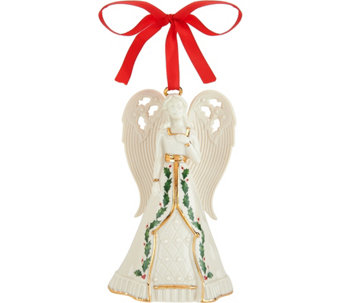 Lenox Porcelain Angel Bell with 24kt Gold Accents - H208706
