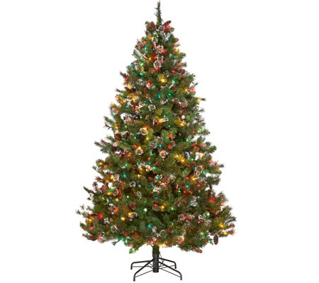 ED On Air 7.5' Mixed Ming Tip Baby's Breath Tree by Ellen DeGeneres