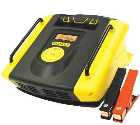 Stanley 25-AMP Battery Charger 75-AMP Start & Alternator Chec