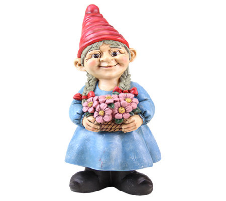 "Exhart 13"" Girl Gnome"